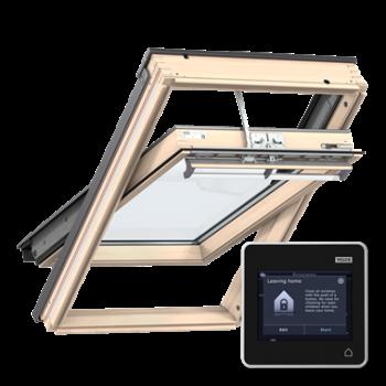 Купить мансардное окно VELUX PREMIUM INTEGRA с дистанционным управлением