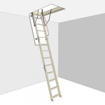 Чердачная лестница DSC 70х120х280/300 COMFORT