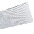 Сотовый поликарбонат 3,5 мм Тепличный Экстра Прозрачный