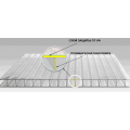 Сотовый поликарбонат, 4 мм, прозрачный, Томато
