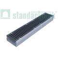Лоток водоотводный бетонный BetoMax Drive DN150 с чугунной решеткой кл. D (комплект)