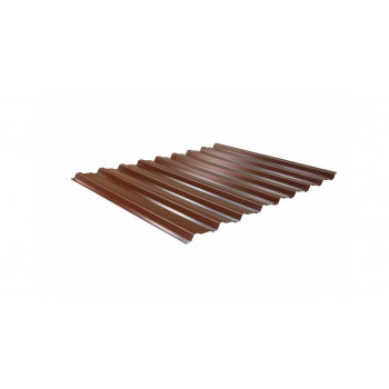 Панель Премиум 860*1970 мм коричневый RAL 8017