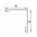 Планка угла наружного 50х50х2000 мм