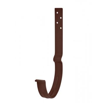 Крюк крепления желоба длинный с комплектом крепления 125