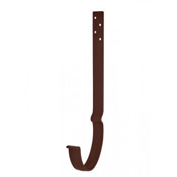 Крюк крепления желоба удлиненный с комплектом крепления 125