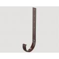 Кронштейн желоба металлический 300 мм STANDARD, Цена за 1 шт.: Коричневый