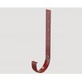 Кронштейн желоба металлический 300 мм STANDARD, Цена за 1 шт.: Красный
