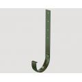 Кронштейн желоба металлический 300 мм STANDARD, Цена за 1 шт.: Зеленый