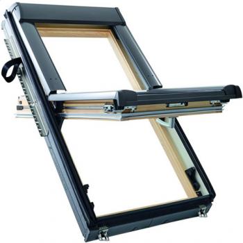 Окно Designo R68C H WD из дерева (однокамерное, среднеповоротное)