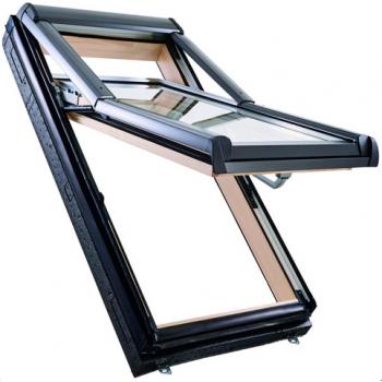 Окно Designo R79 H WD из дерева (двухкамерное, приподнятая ось поворота)