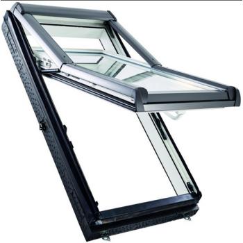 Окно Designo R79 К WD из ПВХ (двухкамерное, приподнятая ось поворота)