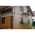 Монтаж фасадной панели