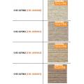 Фиброцементные фасадные панели TORAY серия CHE