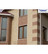 Фиброцементные фасадные панели TORAY
