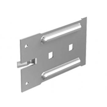 Подвижная опорная часть кронштейна оцинкованная L=120 мм