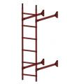 Лестница стеновая  ELITE 400: Красная окись - Ral 3009