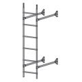 Лестница стеновая  ELITE 400: Серый - Ral 7004