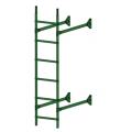 Лестница стеновая  ELITE 400: Зелёная мята - Ral 6002