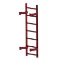 Лестница пожарная П1-1: Коричнево-Красный- Ral 3011