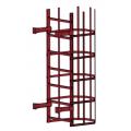 Лестница пожарная П1-2: Коричнево-Красный- Ral 3011