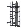 Лестница пожарная П1-2: Серый графит - Ral 7024