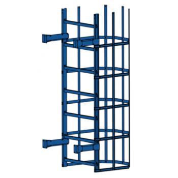 Лестница пожарная П1-2