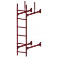 Лестница стеновая PRESTIGE : Красная окись - Ral 3009 Лестница стеновая PRESTIGE : Коричнево-Красный- Ral 3011