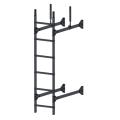 Лестница стеновая PRESTIGE : Серый графит - Ral 7024