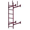 Лестница стеновая PRESTIGE : Вино - Ral 3005