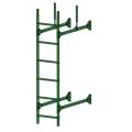 Лестница стеновая PRESTIGE : Зелёная мята - Ral 6002