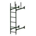 Лестница стеновая PRESTIGE : Злелёный хром - Ral 6020