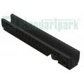 Лоток водоотводный пластиковый PolyMax Basic DN100 h155