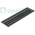 Решетка водоприемная PolyMax Basic DN100 пластиковая ячеистая
