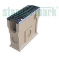 Пескоуловитель CompoMAX полимербетонный с решёткой щелевой чугунной ВЧ (комплект)