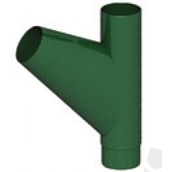 Тройник трубы D100