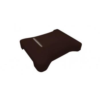 Крышка универсальная коричневая RAL 8017