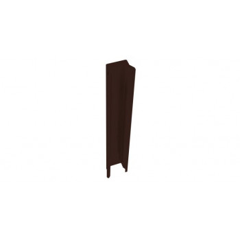 Стойка 84х48х3000мм коричневый RAL 8017